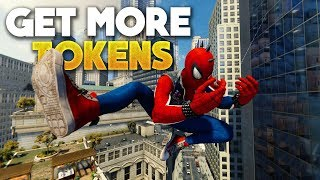 Spider-Man PS4 How To Get More Challenge & Base Tokens!