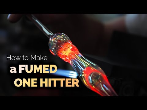 How to Blow Glass Pipes, Bongs, Bubblers, and More by Purr - Part 12