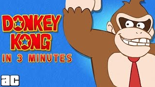 Donkey Kong In 3 Minutes And MORE!!! | Video Games In 3 @ArcadeCloud