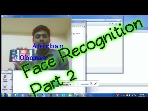 OpenCV Face Recognition   How to write a face recognition program in python (tutorial) Part-2