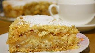 Простой -но ОЧЕНЬ вкусный -Яблочный пирог