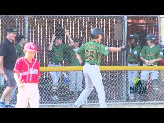 Game of the Week | Novato South Vs. Ross Valley | Little League Baseball ( 6-30-2016 )