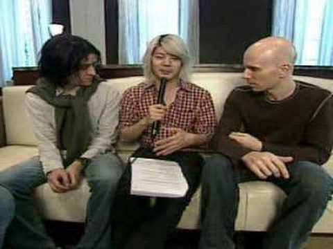 A Perfect Circle interview with Jeordie, Billy, and James