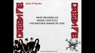 Cream Pie - Such A Psycho (w/lyrics) Thumbnail