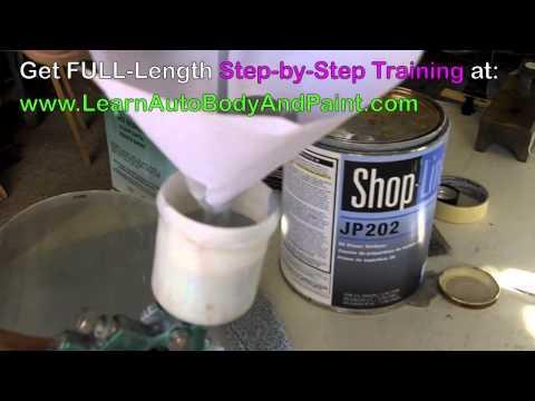 NEW! Car Bodywork – Auto Body Paint Repair Training Video 2/5
