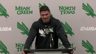 North Texas Football: Seth Littrell - Week 11 Press Conference 11/5/19