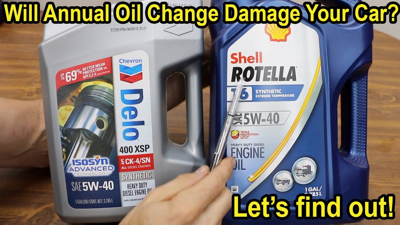 Download Will Annual Oil Change Damage Your Car? Let's find out!