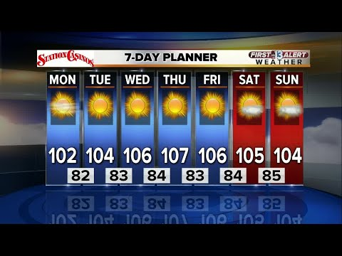 13 First Alert Weather for August 7 2017