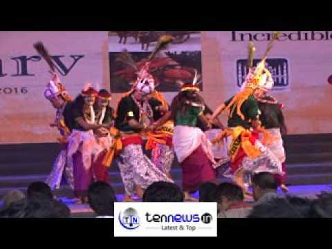 BHARAT PARVA CELEBRATED TO DISPLAY INDIAN CULTURE FROM INDIA GATE NEW DELHI 1