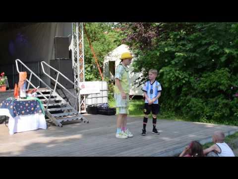 Zauberclown Zyxks Buchholzer Festtage Berlin 4.6.2016