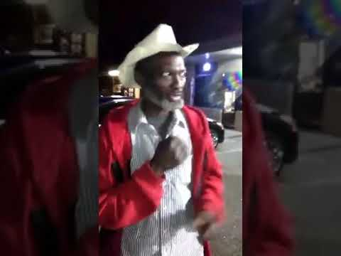 "West Dallas homeless singer ""Cowboy"""
