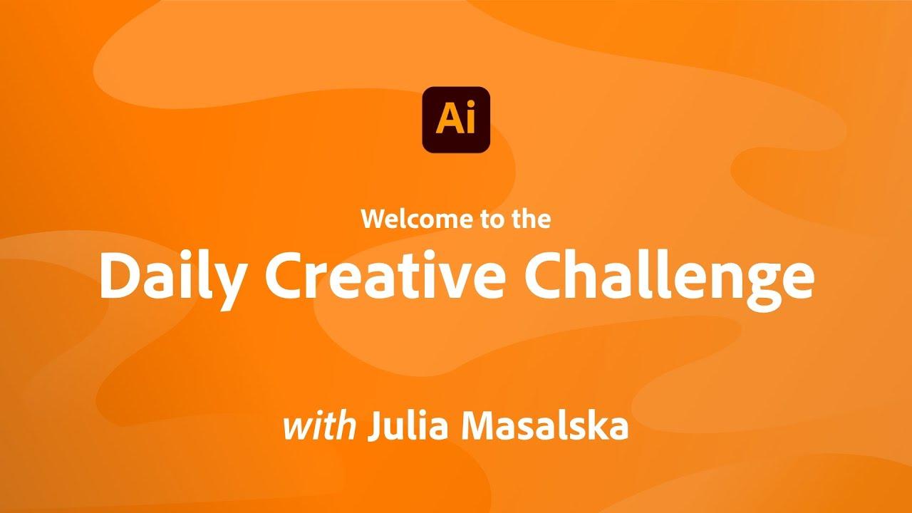 Illustrator Daily Creative Challenge - Welcome