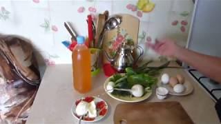 Что едят в русской деревне/Холодный суп/Сливочная картошка