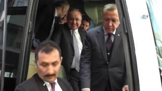 Resim Bölümü Öğrencisinden Erdoğan'a Tablo