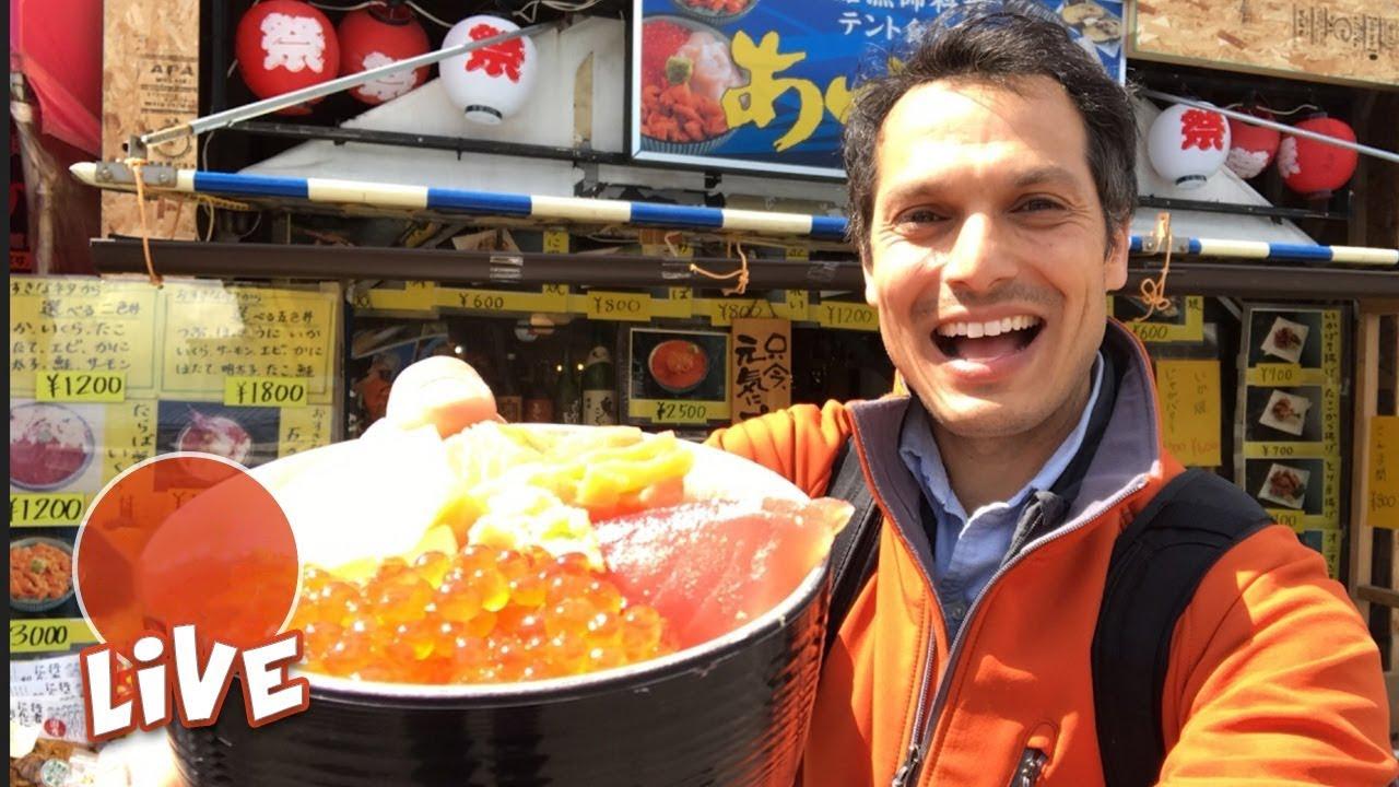 Hakodate's Famous Kaisendon & Morning Market ☆ LIVE #17