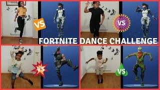 FORTNITE DANCE CHALLENGE | REAL LIFE | SUPERDUPER FAMILY