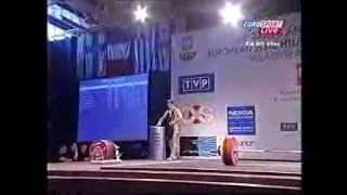 2006 European Weightlifting 85 kg