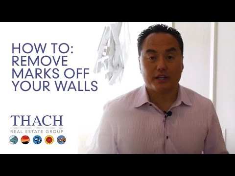 How to Remove Marks off Your Walls without Removing Paint - Ask Thach