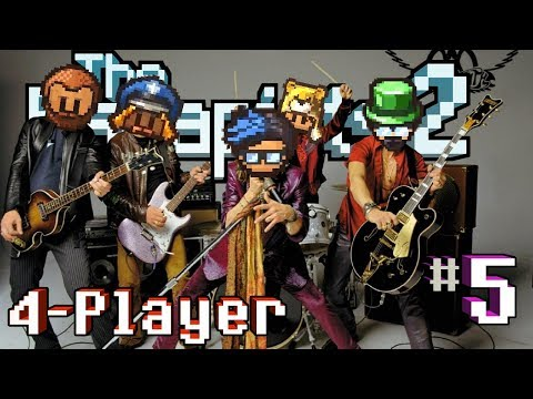 The Escapists 2: 4-Player - H.M.P. Offshore #5 - Officer Aerosmith (4-Player Gameplay)