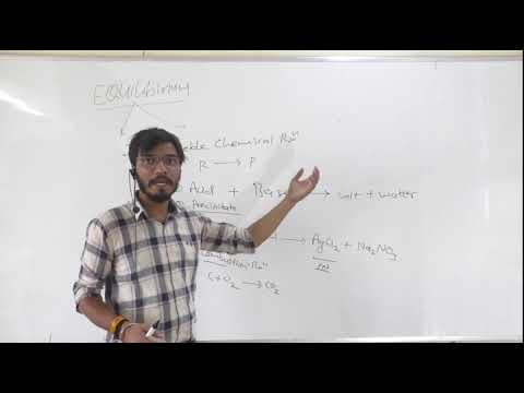 """EQUILIBRIUM --INTRODUCTION"" CHAPTER 7 CLASS 11 CHEMISTRY"