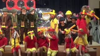 Primary Years 1-3 Production of 'Bumblesnouts Save the World'