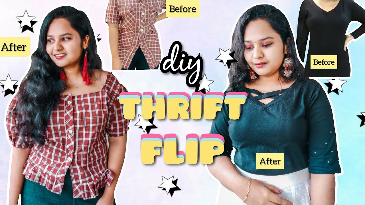 [VIDEO] - THRIFT FLIP | India | DIY Clothing Challenge | 2019 5