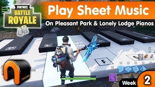 Play Sheet Music On The Pianos Near Pleasant Park WEEK 2
