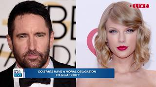 Trent Reznor Blasts Taylor Swift