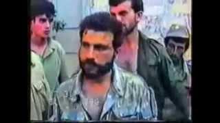 Армянский боевик попал в плен в Карабахе. Armenian gunman was captured in Karabakh
