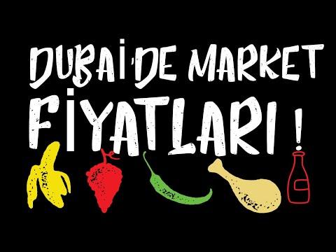 DUBAİ'DE MARKET ALIŞVERİŞİ ! | MARKET PRICES IN DUBAI ! ILK GUVENLIK OLAYIM !!