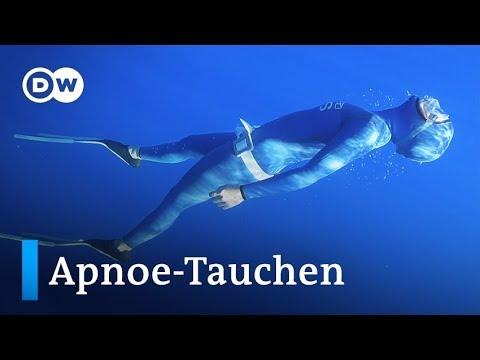 Rekord-Apnoe-Taucherin Anna Von Boetticher | Euromaxx
