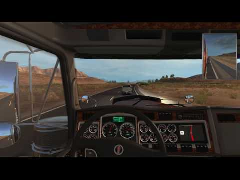 American Truck Simulator - Chipboards from Ely (NV) to Sacramento (CA)