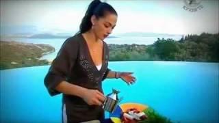 Греческий салат с сыром (брынзой, фетаксой)