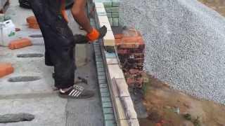 кирпичная облицовочная кладка строительство коттеджа(, 2012-07-11T13:08:37.000Z)