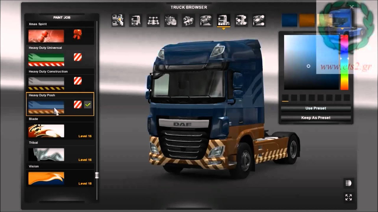 Greek Ets2 High Power Cargo Pack Dlc Skins Youtube