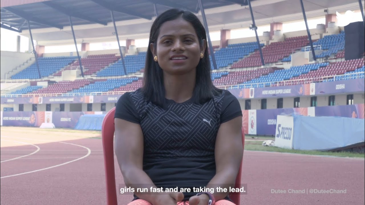 #HerSportsStory with Dutee Chand | Twitter