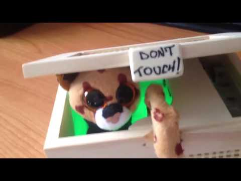 DON'T TOUCH BOX STROBO !!!  - THE ORIGINAL - LIMITED EDITION - USELESS BOX