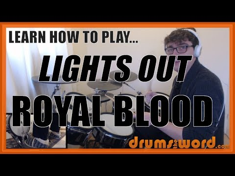 ★ Lights Out (Royal Blood) ★ Drum Lesson PREVIEW | How To Play Song (Ben Thatcher)