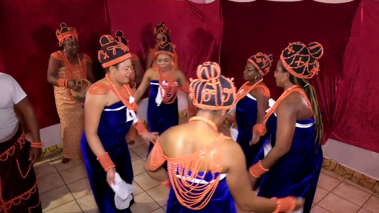 Download Edo cultural troupe , Athens Greece,  led by Halleluya, 1
