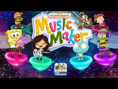 Nickelodeon Music Maker - Create and Get Down with your own Music (Nickelodeon Games)