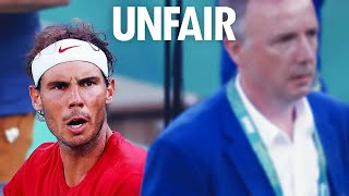 Nadal was never this PISSED OFF in a match ● The day Nishikori spent 10 minutes in the bathroom