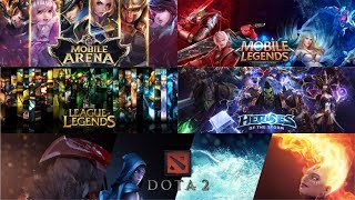 Sejarah Game MOBA (AoS, DotA, League of Legends, Vainglory, sampai Arena of Valor & Mobile Legends)