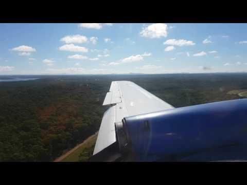 4k FlyPelican landing Newcastle Williamstown Airport BAE Jetstream 32