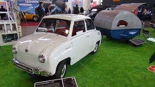 1967 - Glas Goggomobil with trailer - Retro Classics Stuttgart 2016