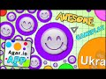 Download WOAH AWESOME! BECOMING THE BIGGEST BLOB ON THE AGARIO MOBILE APP (ADDICTIVE GAME - AGAR.IO iOS #87) MP3 song and Music Video