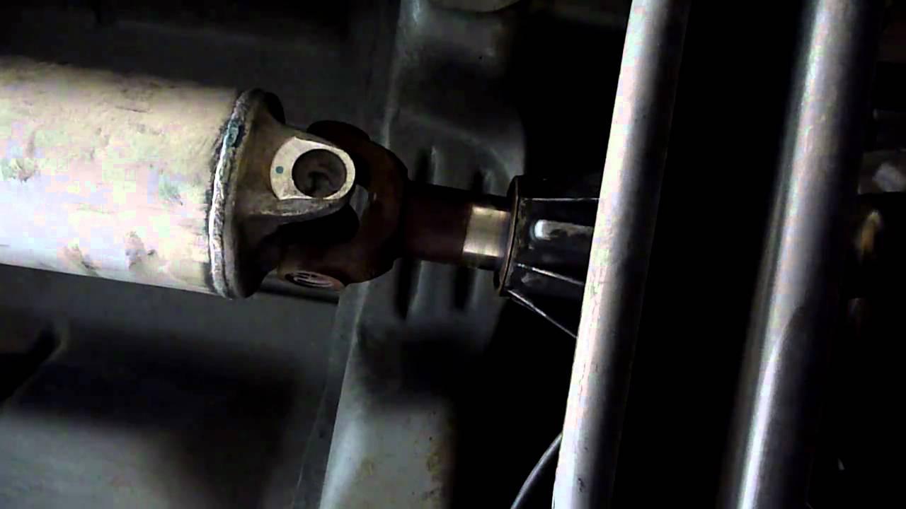 Chevrolet Silverado bad ujoint or slip yoke?  YouTube