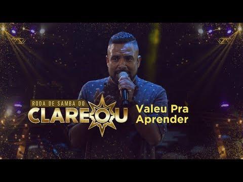 DVD   Roda de Samba do Clareou - Valeu Pra Aprender