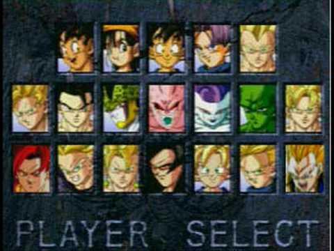 Dragon Ball Final Bout Super Player Select Super Gogeta and