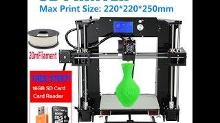 infitary 3d printer diy prusa i3 kit hot bed level