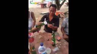 Bali vs japan saki arak challenge